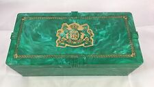 Antique Early Plastic Marble Celluloid Pall Mall Cigarette Box
