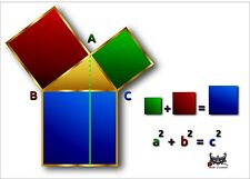 Pythagorean theorem chart - LOT OF 10