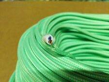 25 ft Simple Vintage 2-Wire Round Cloth Covered Wire Antique Pendant Lamp Cord