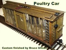 Ho Poultry Car Wood Metal Kit New in Box