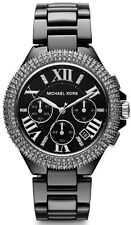 Michael Kors Camille Black Ceramic Womens Watch MK5844