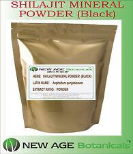 SHILAJIT MINERAL  POWDER (Black) - Asphaltum punjabianum - 100G