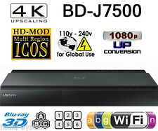 Samsung BD-J7500 CODEFREE Multi Zone All Region Free Blu-Ray DVD Disc Player