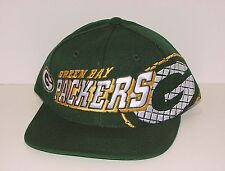 Vintage 90s Green Bay PACKERS Sports Specialties GRID Snapback HAT NEW Old Stock