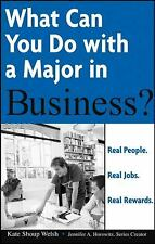 What Can You Do with a Major in Business? Shoup, Kate Paperback
