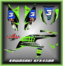 KAWASAKI KFX 450R SEMI CUSTOM GRAPHICS KIT SAPIN