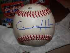 GRANT HOLMES  OAKLAND A`S 18 YRS OLD AUTOGRAPHED BALL ROOKIE LEAGUE 2015 #2