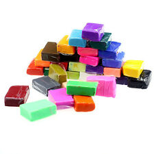 32pcs DIY Malleable Fimo Polymer Modelling Soft Clay Blocks Plasticine Bon