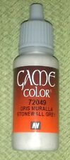 Vallejo Paint Game Color Stonewall Grey 72049 Eye Dropper Bottle 17ml