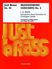 Bach Brandenburg Concerto No.3 Score Parts Just Brass No.59 Music Book