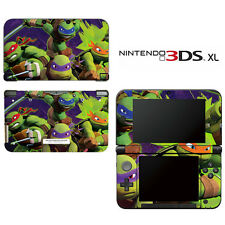 Vinyl Skin Decal Cover for Nintendo 3DS XL LL - Teenage Mutant Ninja Turtles TMN