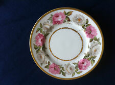 "Royal Worcester Royal Garden (dots & dashes) 6 1/8"" side plate (minor scratches)"