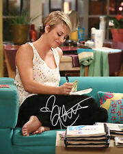 TBBT KALEY CUOCO #2 10X8 PRE PRINTED (SIGNED) LAB QUALITY PHOTO - FREE DEL