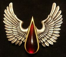 40k Space Marine Blood Angels chapter badge (Red blood drop)