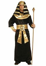 Adult Black Pharaoh Costume size Medium with defect