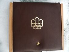 1976 Montreal Canadian Olympic Games COJO Original Wood Box Coin Case Only