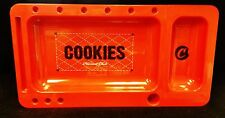 Red Cookies Harvest Club Cigarette Rolling Tray 2.0 with Slideout Berner Cookies