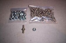 LIONEL PARTS, V Z KW ZW , LOT OF 25 BOLT ON BINDING POSTS FOR LARGE TRANSFORMERS