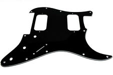 FENDER Stratocaster HH Pickguard, Black, Cut for FLOYD ROSE Tremolo 0090789002