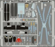 1/32 EDUARD #32537 Fotoätzteile, Su-27 Flanker seat, For ACADEMY kit