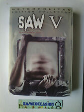 SAW V DIRECTOR'S CUT EDITION COLLECTOR LIONSGATE /  DVD