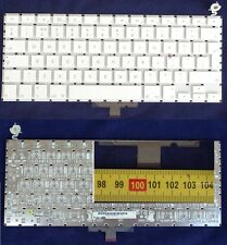 "Clavier QWERTY Apple MacBook 13.3"" A1181 A1185 US Keyboard WHITE without backlit"