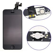 For iPhone 5C LCD Display Touch Screen Digitizer Frame Home Button Assembly MBKT
