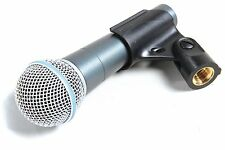 New Shure Beta 58A Supercardioid Vocal Microphone