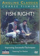 FISH RIGHT! (FISH RIGHT) ANGLING CLASSICS COARSE FISHING DVD