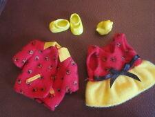 kelly doll Clothes  ladybug dress coat and shoes set