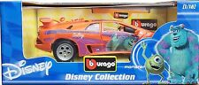 LAMBORGHINI DIABLO Monster Sulley Walt Disney Collectible Burago 1/18 (2005)BNIB