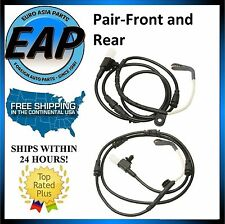 For Land Rover LR3 LR4 4.0L 4.4L 5.0L PAIR FRONT & REAR Brake Pad Wear Sensor
