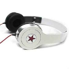 Star white earphone headphone.For samsung S3/S4///with/microphone