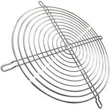 Grille chromée de protection 240x240mm ventilation pour ventilateur boîtier PC