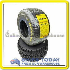 GO KART TYRE DUNLOP KT14 WET FRONT KT14W13 10X4.50-5 REAR SUIT TAG/R AND CLUBMAN