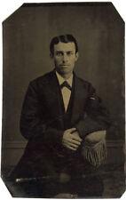 Photo Ferrotype Portrait Homme Vers 1870