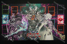 FREE TUBE Yugioh Playmat Custom Made Play Mat Dark World #013