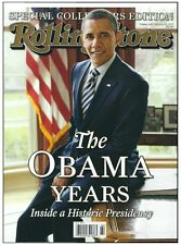 Rolling Stone Magazine Collectors The Obama Years Special Collectors Edition!