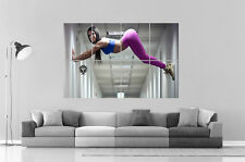 Super Sexy Girl bum Hot Fitness  Wall Art Poster Grand format A0 Large Print