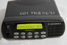 MOTOROLA CDM1550LS+ 403-470MHz 40WATTS 16Ch. MOBILE RADIO MODEL # AAM25RKF9DP5AN