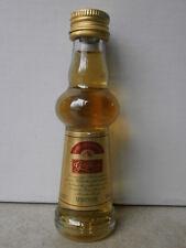"""Altes Miniaturfläschchen aus Sammlung """"GOLD KRONE Qualität aus Nordhausen"""""""