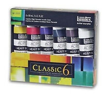 LIQUITEX HEAVY BODY Vernice Acrilica Set Classico 6 x 59ml
