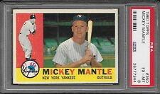 1960 Topps #350 Mickey Mantle  PSA EX-MT 6  #26777344  YANKEES