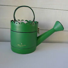 KATE SPADE Green WATERING CAN CLUTCH Bag SPRING FORWARD Sprout SOLD OUT RARE New