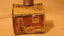 1984 LOG CABIN TIN -8.45 fl oz.  PURE MAPLE SYRUP - FULL