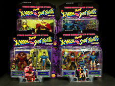 TOYBIZ X-MEN VS STREET FIGHTER 8 FIGURE SET SERIES 2 CAMMY CHUN LI GAMBIT D110