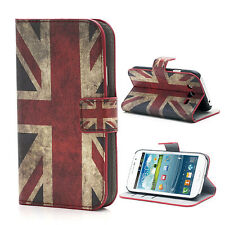 Tasche Schutz Hülle Cover f Samsung Galaxy Grand Neo i9080 i9060 FLAGGE ENGLAND