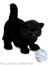 "A.W.S.O.M Animals Black Kitty Fits 18"" American Girl Dolls Accessories Cat Pet"