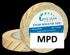 "NEW AUTOCLAVE STERILIZATION STEAM INDICATOR TAPE 3/4"" X 60 YARDS"