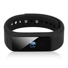 Bluetooth Smart Watch Bracelet Pedometer Step Calorie Counter Sport Tracker ED